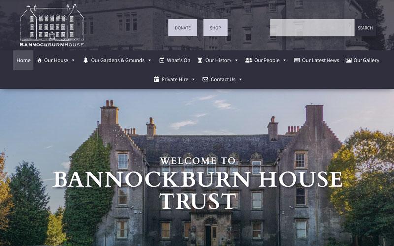 Bannockburn House Homepage